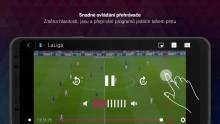 T-Mobile TV GO - Ovládání gesty