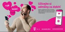 2563_0004 Až 1 GB dat a volání zdarma za dobití: T-Mobile představil nové schéma odměn za dobití předplacených karet. Nové edice rovněž nabídnou více dat