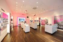 Nový design Značové prodejny T-Mobile na pražském Zličíně