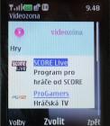 SCORE Live na Videozóně